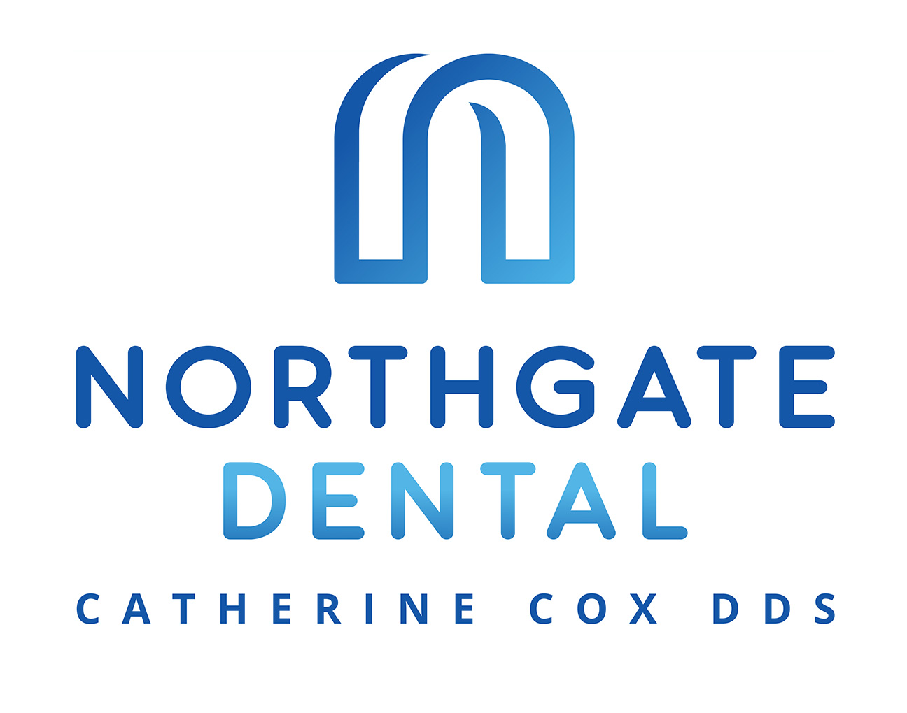The New Logo Brand for Northgate Dental - - The office of Dr. Catherine Cox DDS